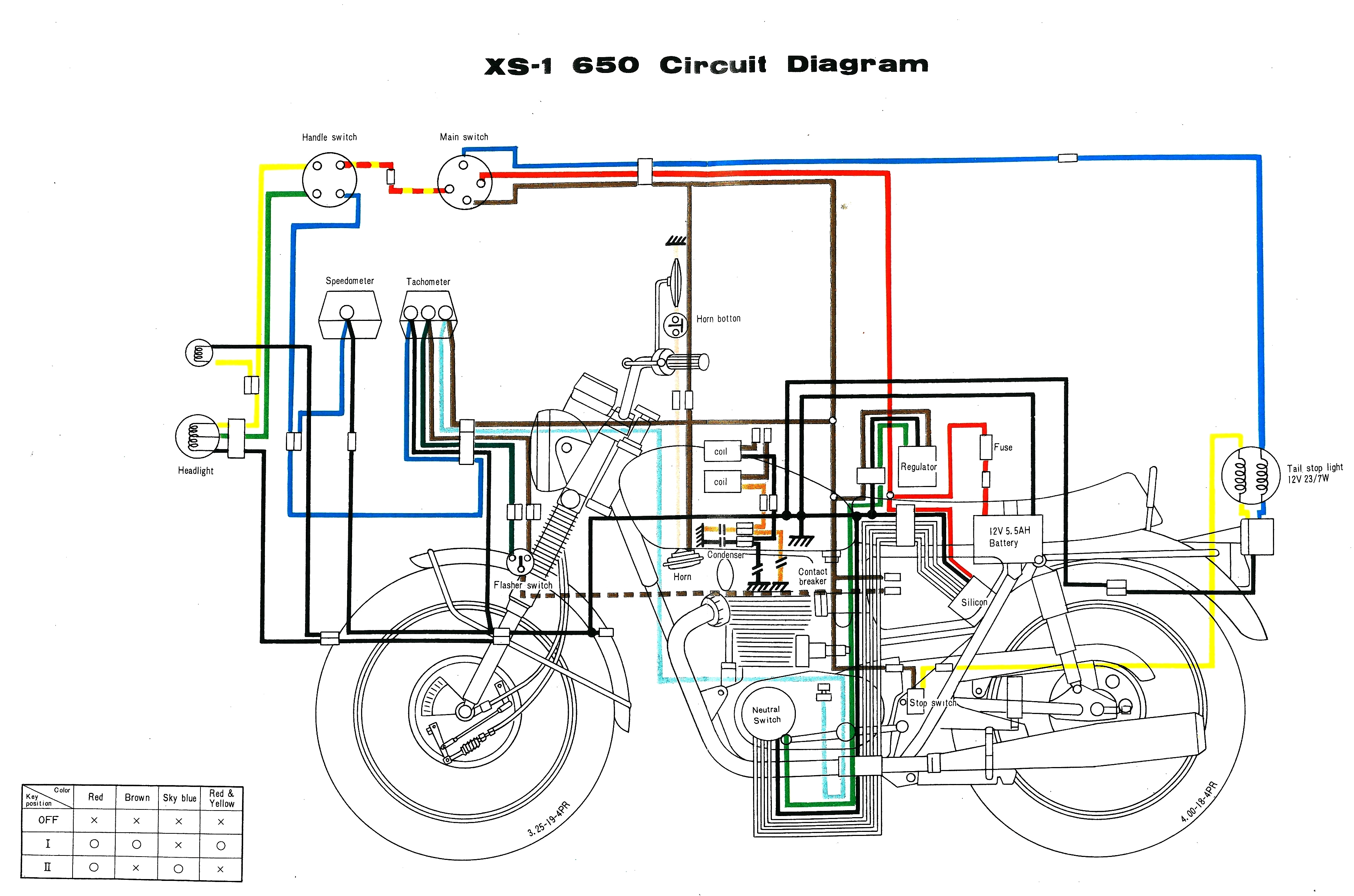 1977 Yamaha Xs 650 Wiring Diagram Electrical Schematics 12 Volt Triumph Schematic Xs650 Harness All Kind Of Diagrams U2022