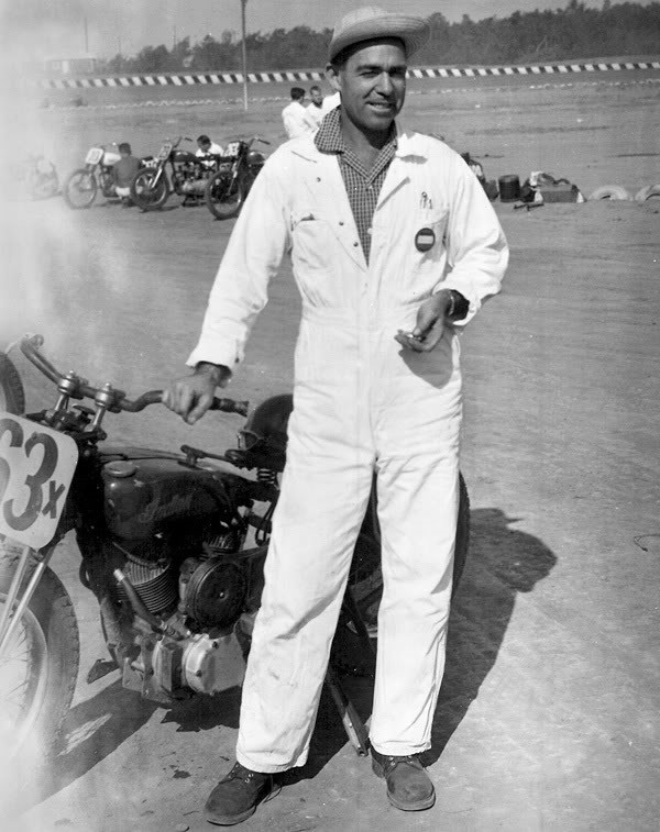 1 .. 13 Rebels Motorcycle Club President Shell Thuet, 1953.