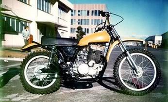 1 .. SR500 prototype .. 1973 .. Shiro Nakamura