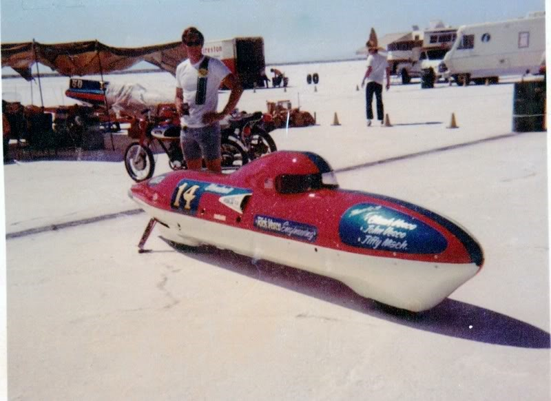 1 .. Vesco Streamliner .. Twin XS650 Supercharged