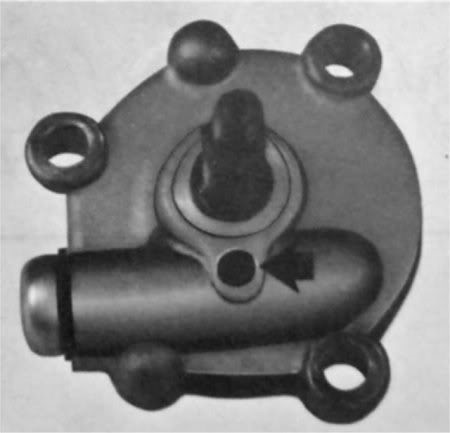 1.. XS1B-F oil pump with prv later models didn't have these anymore