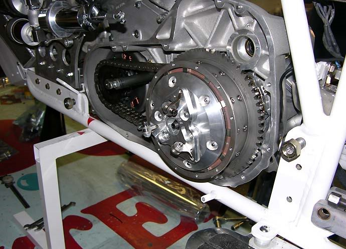 19 .. dry clutch and centrifugal assist fitted