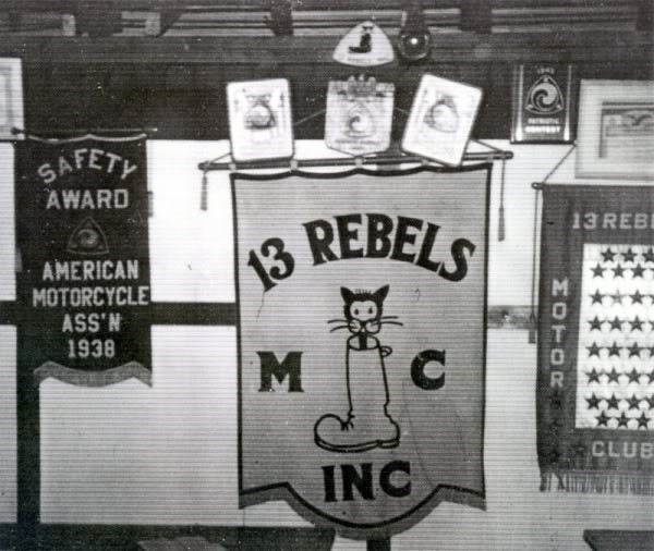 2 .. 13 Rebels MC banner
