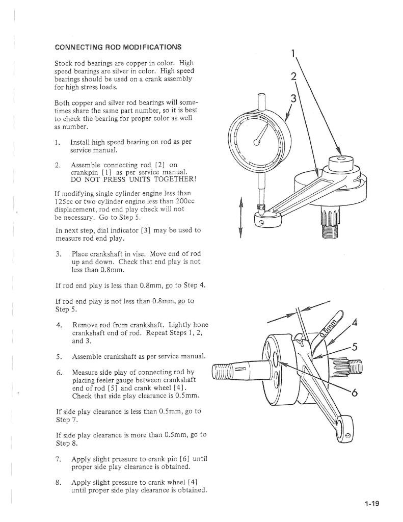 xs650 con rods thexscafe 1975 Yamaha XS650 Wiring-Diagram 2 interesting about the bearings