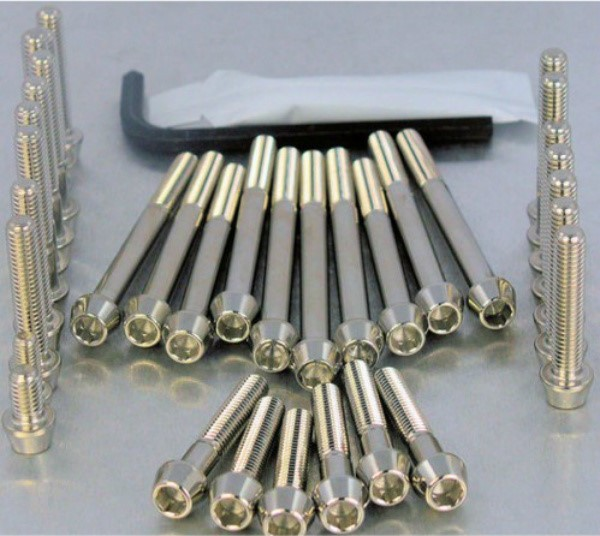 2 .. stainless steel … hex socket - tapered head (allen key)