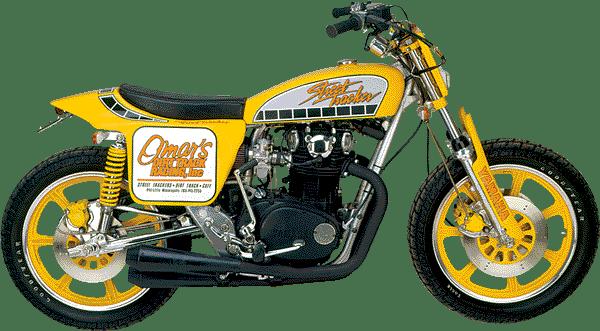 2 .. Yamaha 650 Street Tracker
