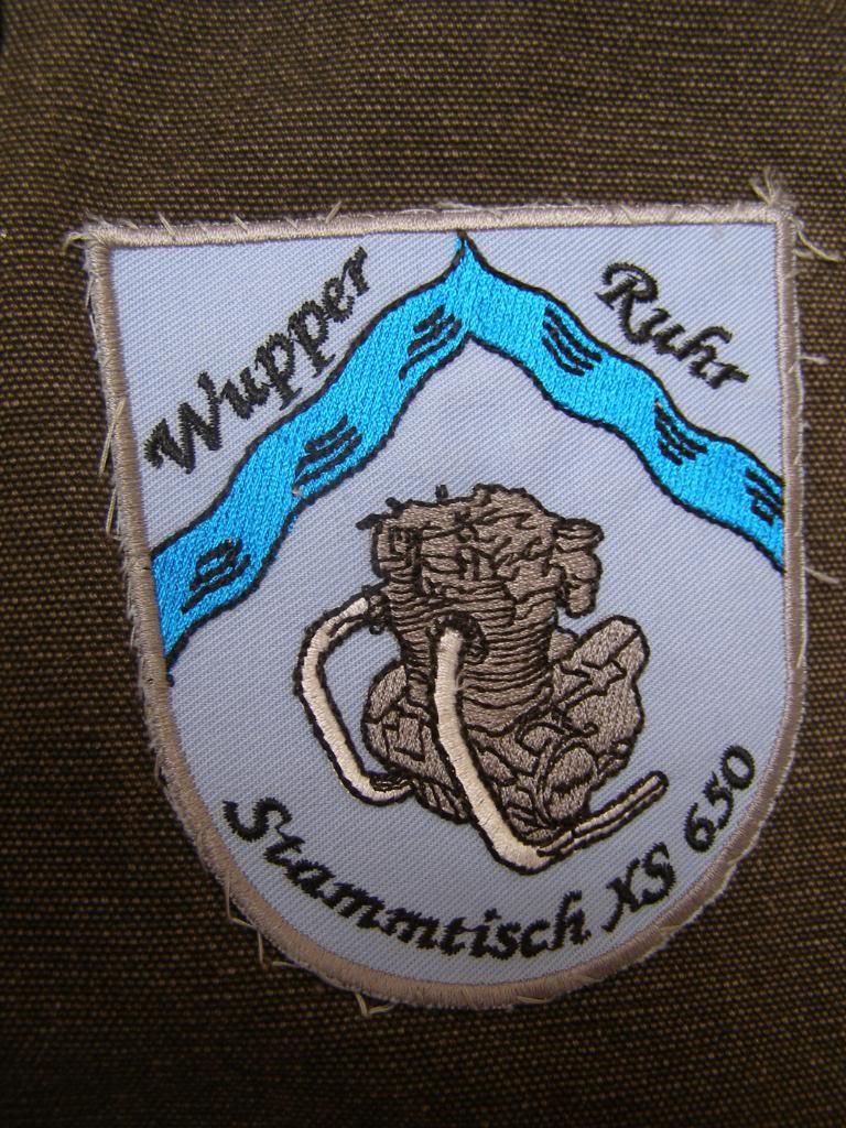 4 .. Wupper Ruhr Stammtisch patch ca 90mm wide