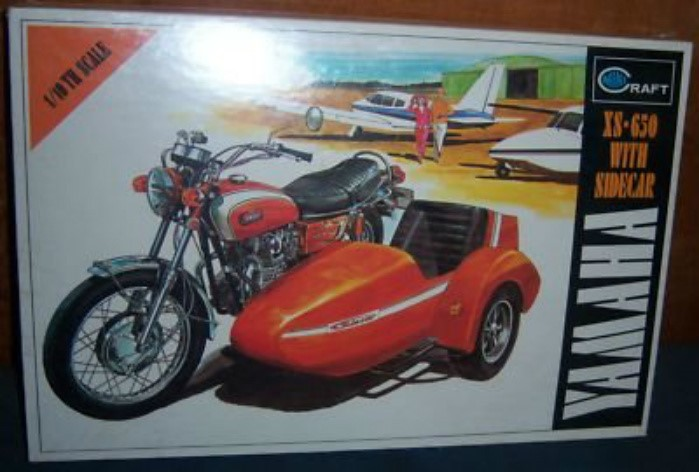 7 .. ... minicraft XS2 with sidecar 1/10 ...