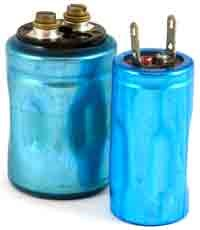 9 .. electrolytic capacitor ... use the one with screw posts ... 25V 10000uF