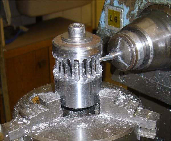 Machining the cage