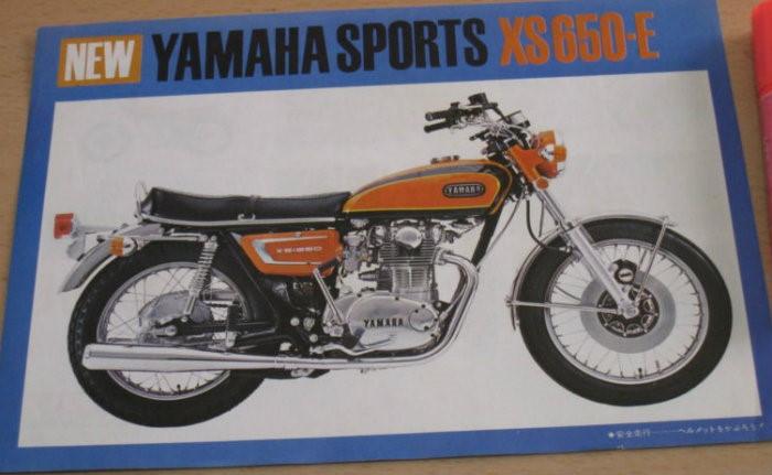 Japanese XS650-E