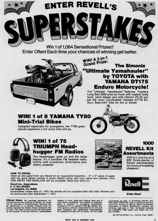 1975 yamahauler