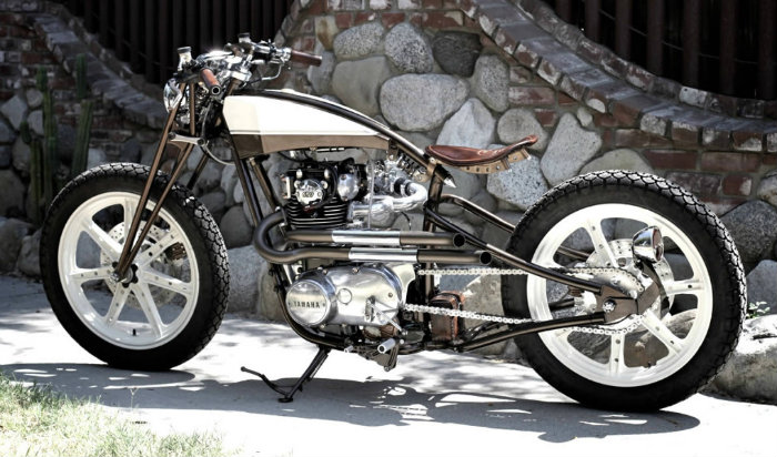 1982 Yamaha XS650 by Chappell Customs