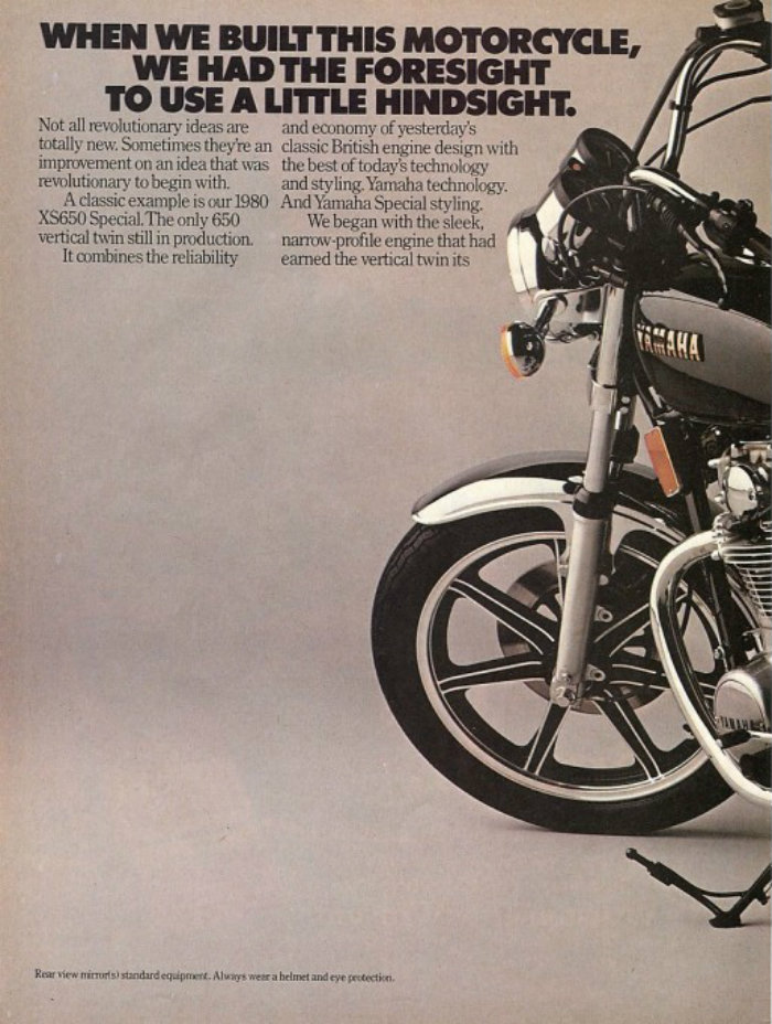 1980 Ad Lhs: 1980 Yamaha 650 Special Wiring At Hrqsolutions.co