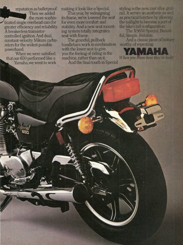 1980 Ad Rhs: 1980 Yamaha 650 Special Wiring At Hrqsolutions.co