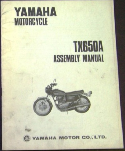 TX650A Assembly Manual