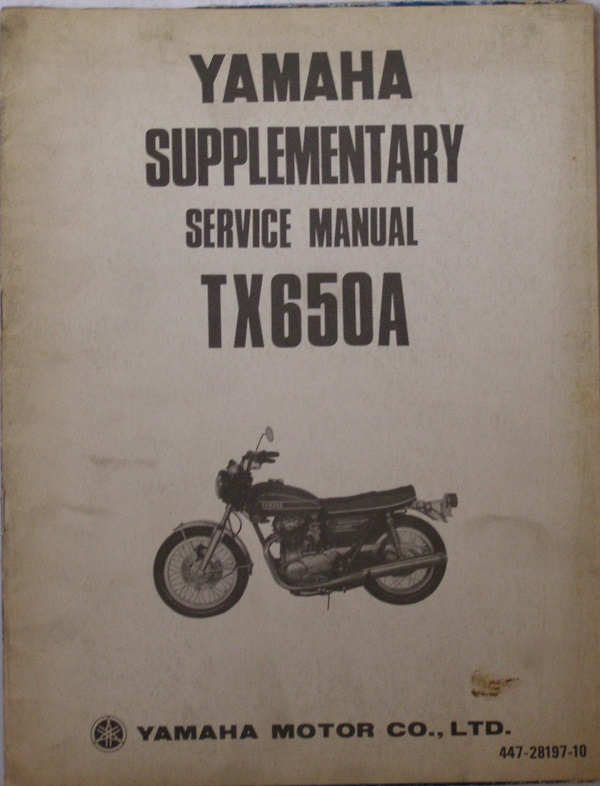 TX650A Supplementary Manual