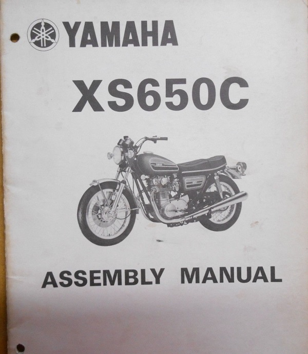 XS650C Assembly Manual