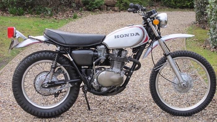 Honda XL250 Motosport